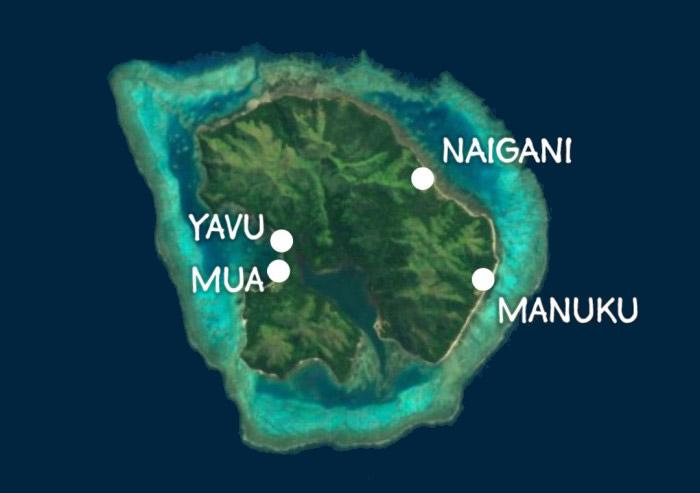 Batiki Map